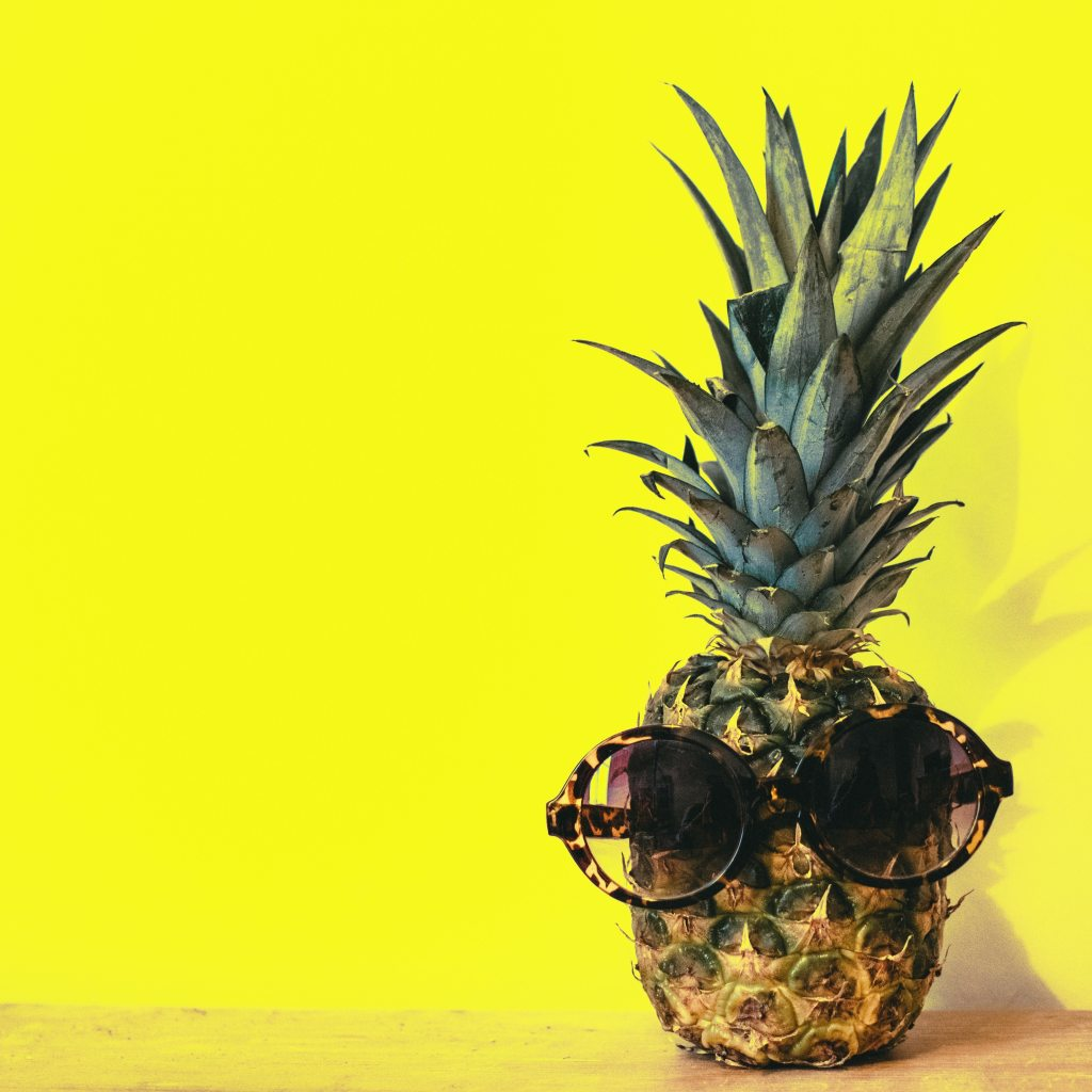 Be a pineapple: Cool-and-chill!